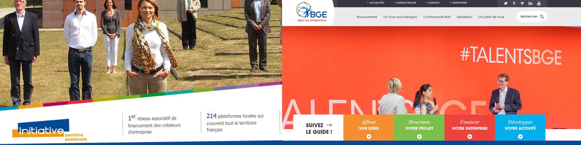 COVID 19, la BGE et Initiative Sambre Avesnois continuent d'accompagner les créateurs d'entreprises.